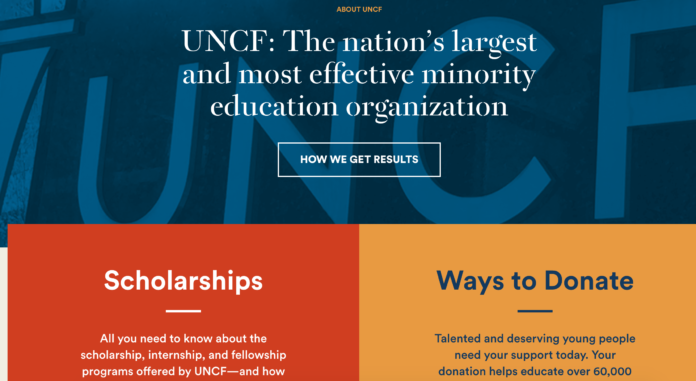 uncf home page
